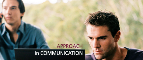 Approach in communication